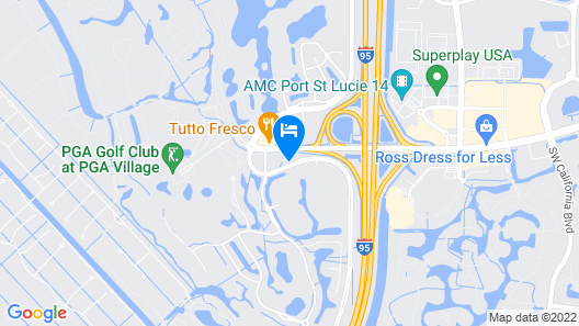 Hilton Garden Inn at PGA Village / Port St. Lucie Map