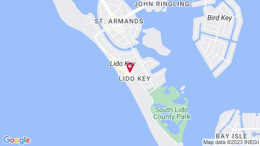Lido Beach Resort Map