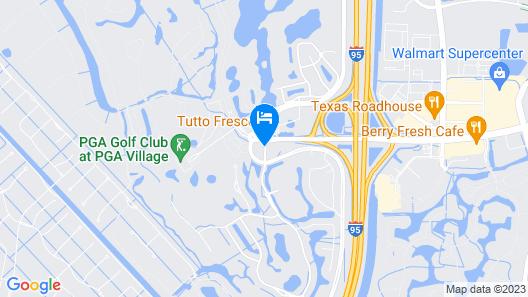 Mainstay Suites at PGA Village Map