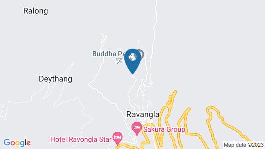 Buddha Retreat Map