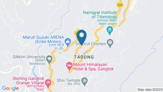 Cygnett Inn Lamaison Map