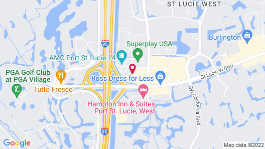 SpringHill Suites Port St. Lucie Map