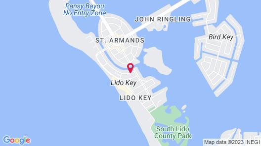 Lido Islander Inn Map