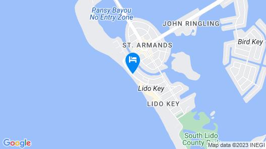 Holiday Inn Lido Beach, Sarasota, an IHG Hotel Map