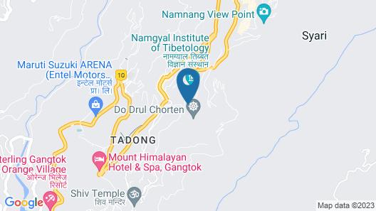 Mount Himalayan Hotel Map