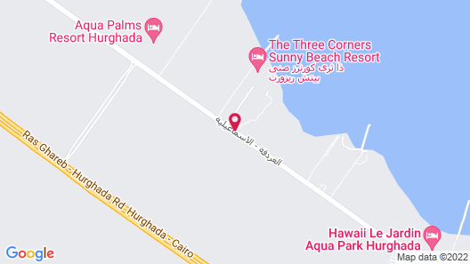 Caves Beach Resort Hurghada - Adults Only - All Inclusive Map