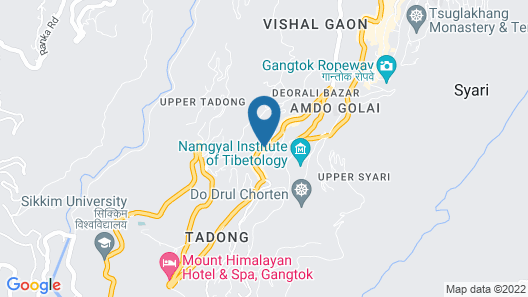 Hotel Tashi Tagey Map