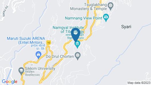 OYO 13465 Greendot Hotel Map