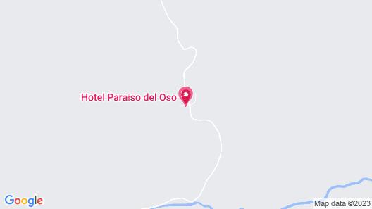 Hotel Paraiso del Oso Map