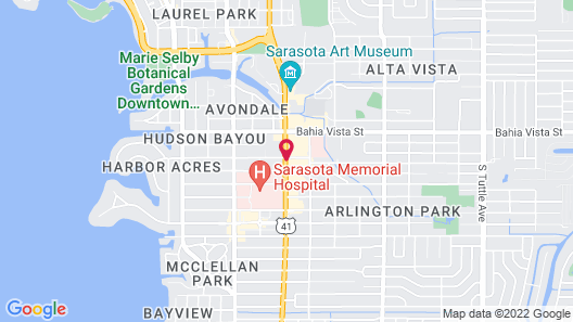 Baymont by Wyndham Sarasota Map