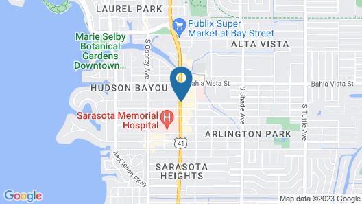Baymont by Wyndham Sarasota Map