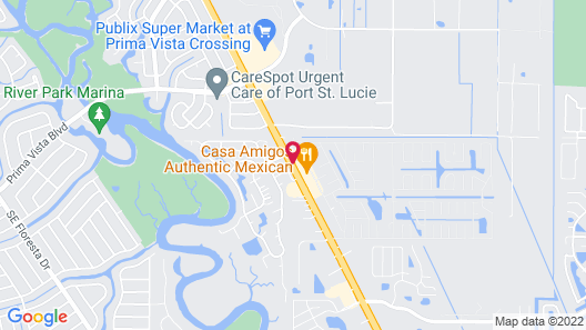 Best Western Port St. Lucie Map