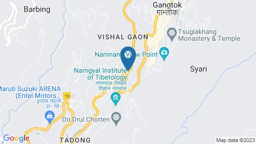 The Golden Crest Map