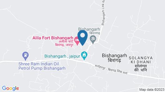 Alila Fort Bishangarh, Jaipur Map