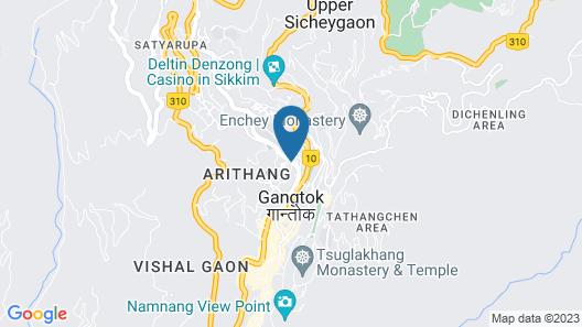 WelcomHeritage Denzong Regency Map