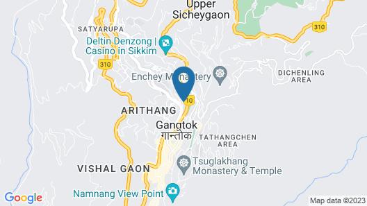 Sterling Gangtok -Orange Village Map