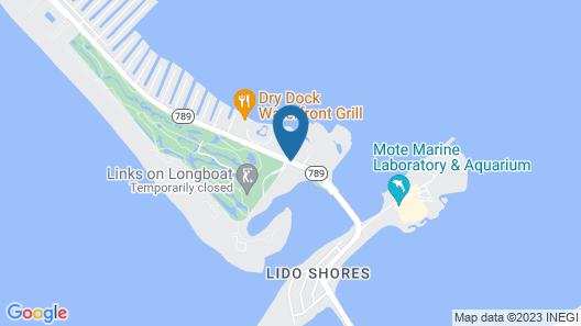 The Resort at Longboat Key Club Map
