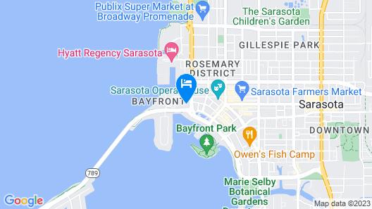 The Westin Sarasota Map