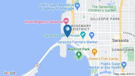 The Ritz-Carlton, Sarasota Map