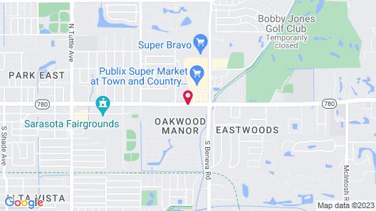 Homewood Suites by Hilton Sarasota Map