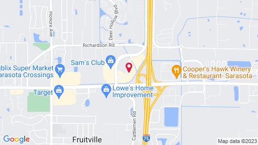 La Quinta Inn & Suites by Wyndham Sarasota - I75 Map