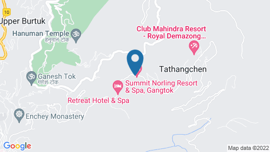 Summit Norling Resort & Spa Map