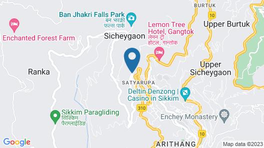 Kanishka Resort & Spa by Sumi Yashshree Map