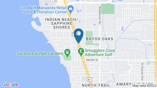 Regency Inn & Suites Map
