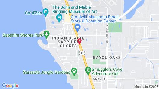 Family Inn Map