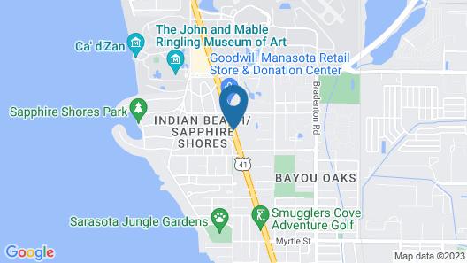 Sarasota Airport Hotel Map