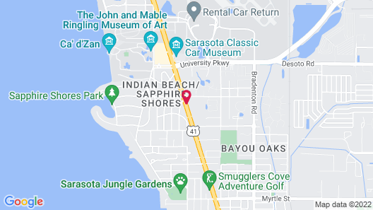 Days Inn by Wyndham Sarasota Bay Map