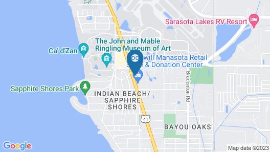 SureStay Hotel by Best Western Sarasota North Map