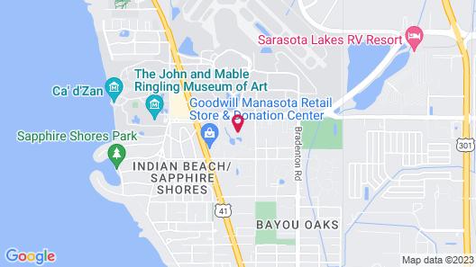 Sleep Inn Sarasota North Map