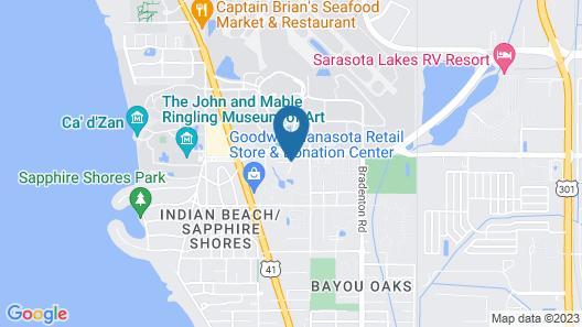Courtyard by Marriott Sarasota Bradenton Airport Map