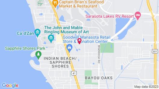 Hyatt Place Sarasota/Bradenton Airport Map