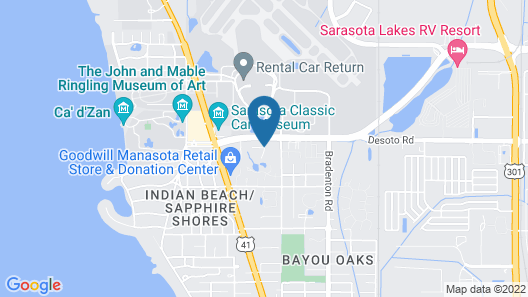 Hyatt Place Sarasota/Bradenton Airport Map