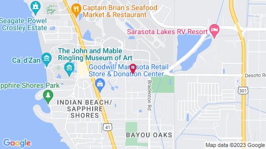 SpringHill Suites by Marriott Sarasota Bradenton Map
