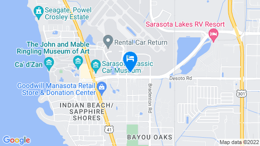 Kompose Boutique Hotel Map