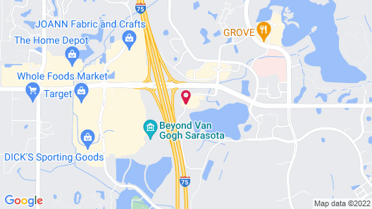 EVEN Hotel Sarasota-Lakewood Ranch, an IHG Hotel Map