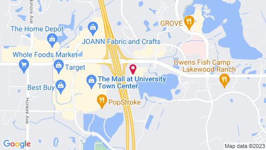 EVEN Hotel Sarasota-Lakewood Ranch Map
