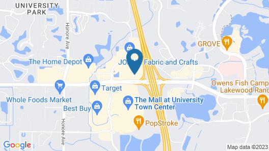 Hampton Inn & Suites Sarasota / Lakewood Ranch Map