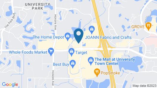 Courtyard Sarasota University Park / Lakewood Ranch Area Map