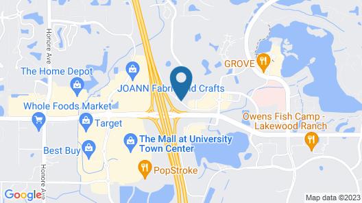 Fairfield Inn & Suites by Marriott Sarasota Lakewood Ranch Map