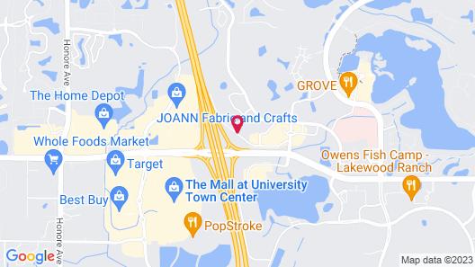 Hyatt Place Sarasota Lakewood Ranch Map
