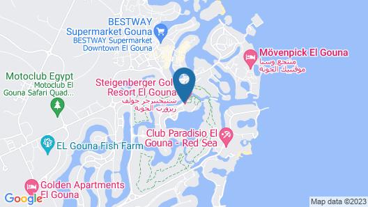 Steigenberger Golf Resort El Gouna Map