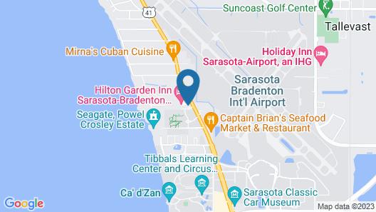 Home2 Suites by Hilton Sarasota - Bradenton Airport, FL Map