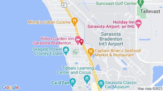 Hilton Garden Inn Sarasota - Bradenton Airport Map