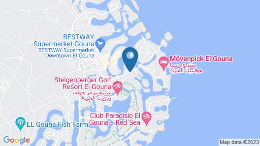 Hotel Panorama Bungalow Resort El Gouna Map