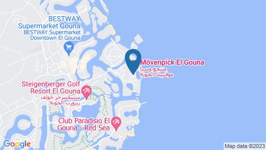 Movenpick Resort & Spa El Gouna Map
