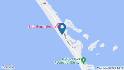 Casa Del Mar Longboat Key Map